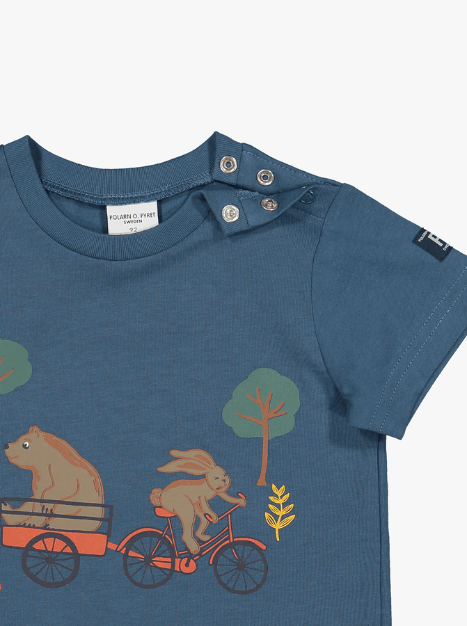 Organic Kids T-Shirt Bear Print
