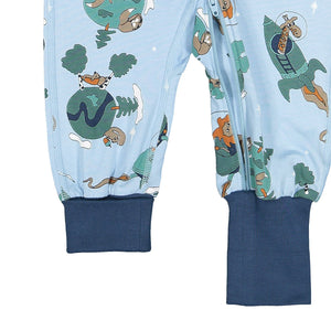 Space Print Onesie Pyjamas