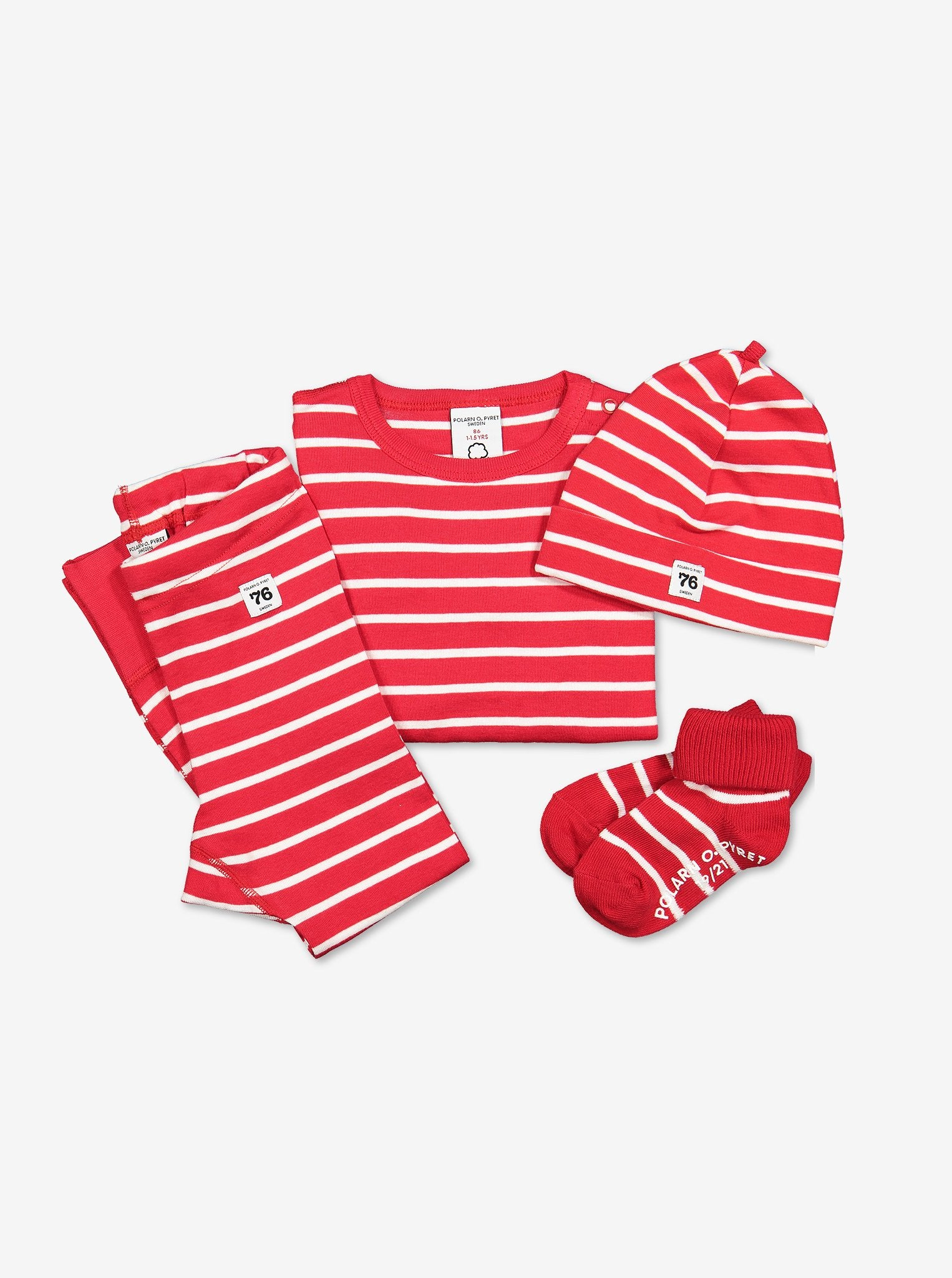 PO.P Stripe Baby Leggings