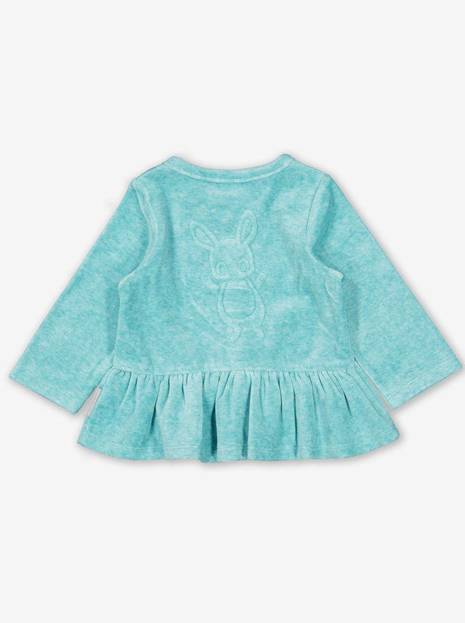 Rabbit Velour Baby Top