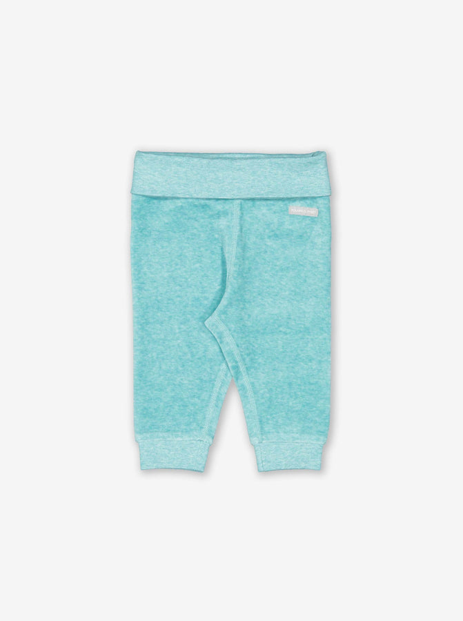 Velour Baby Trousers