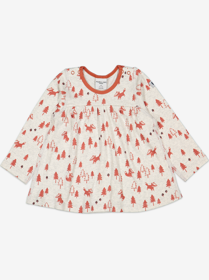 Badger Print Baby Top
