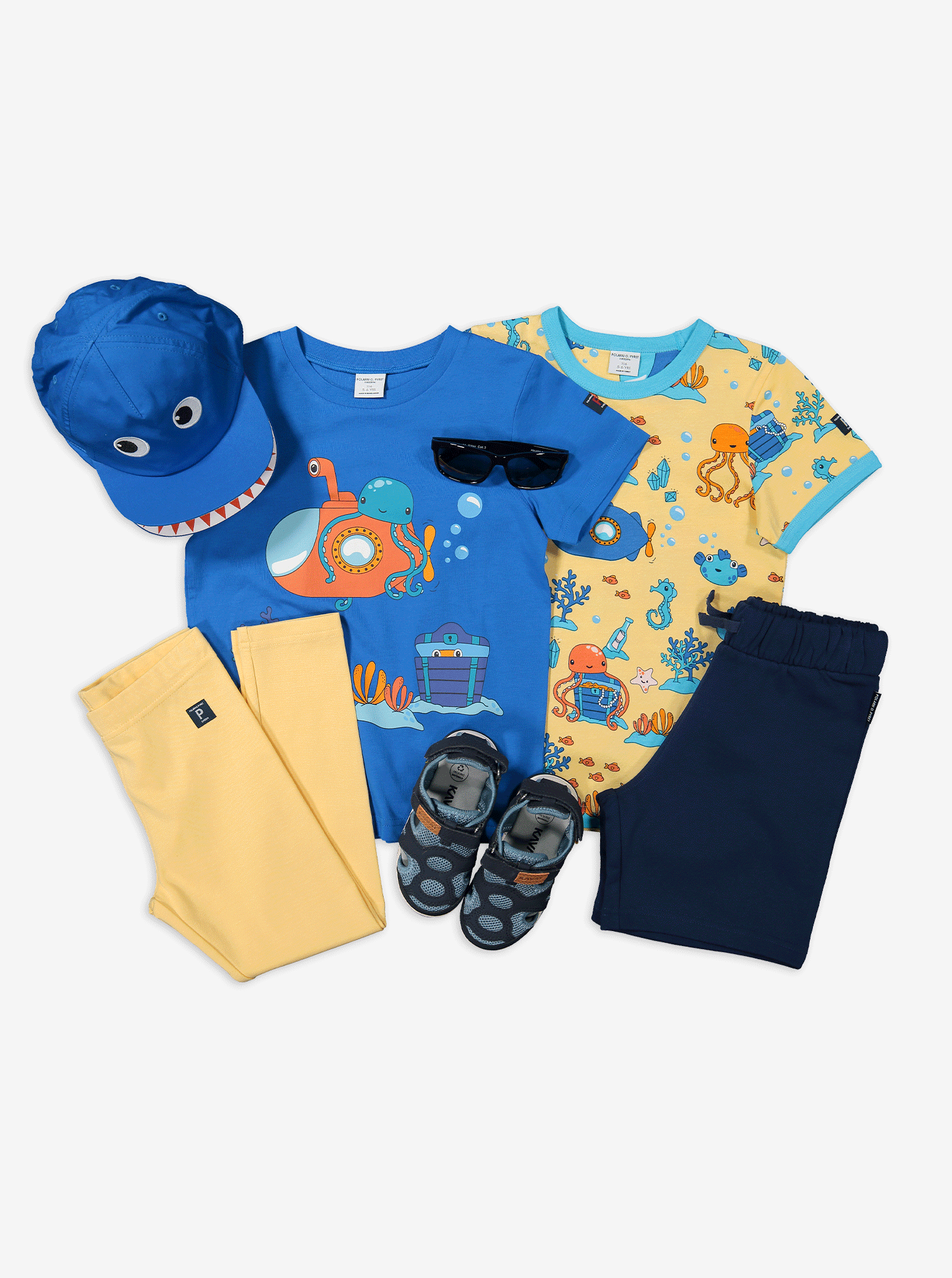 Underwater Print Kids T-Shirt
