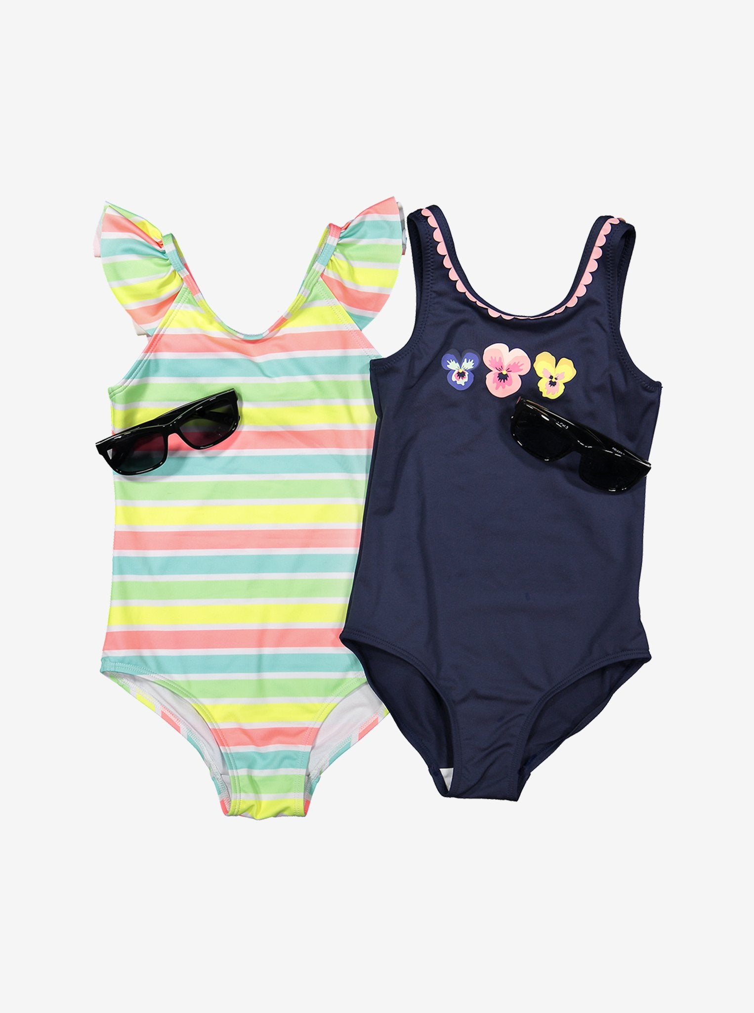 Striped Kids Swimsuit