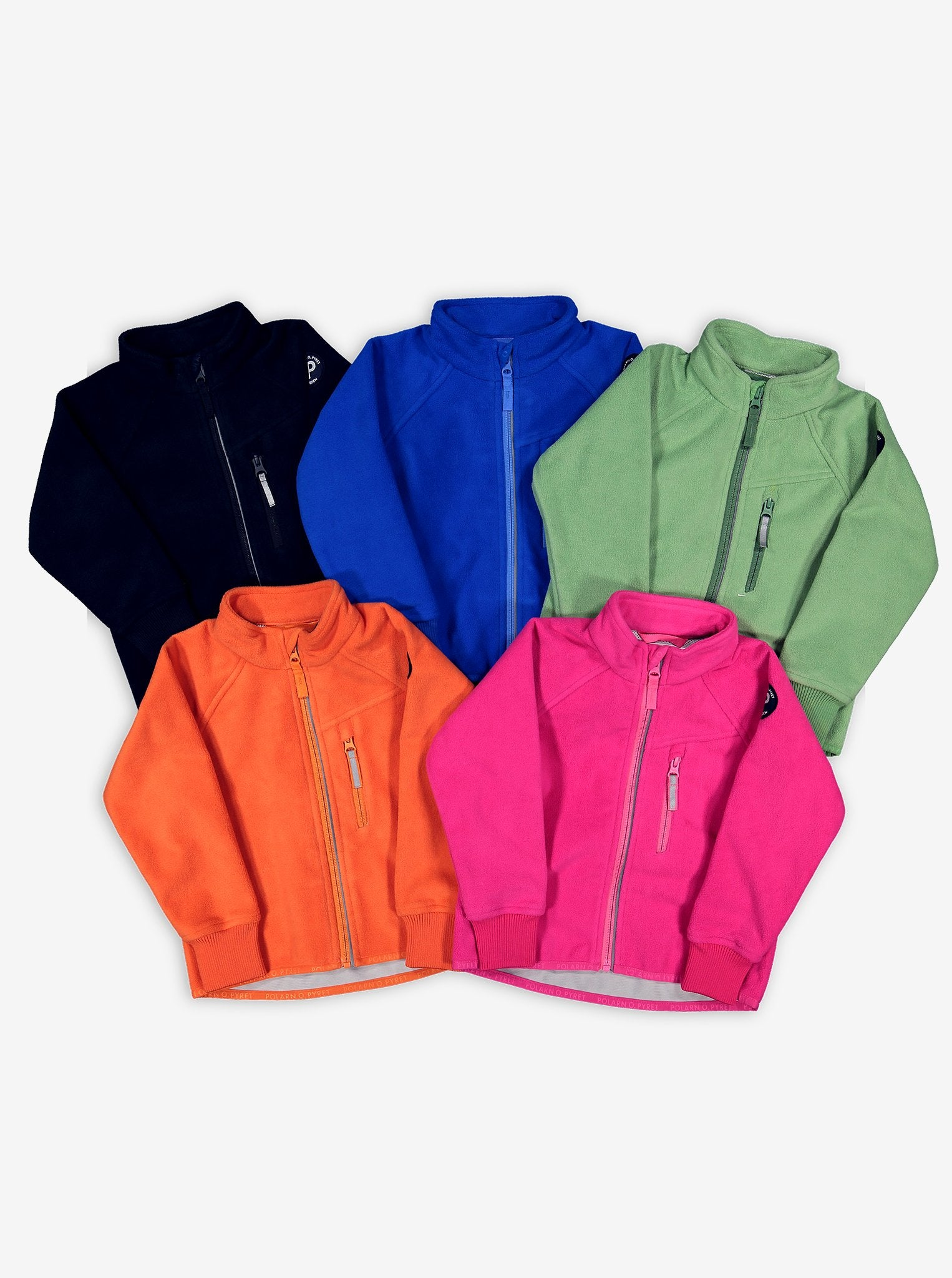 Kids Waterproof Fleece Jacket