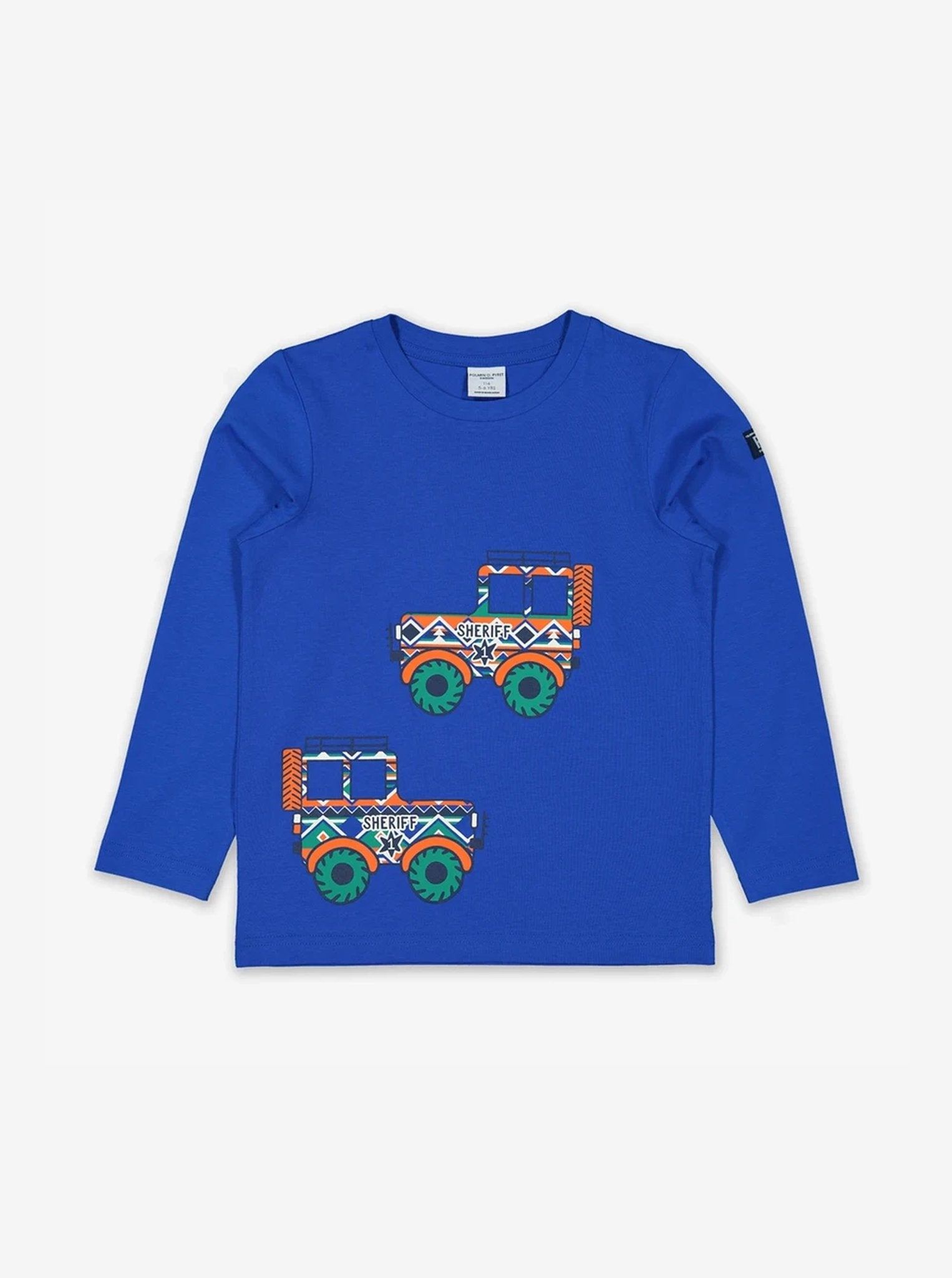 Sheriff's Truck Kids Top