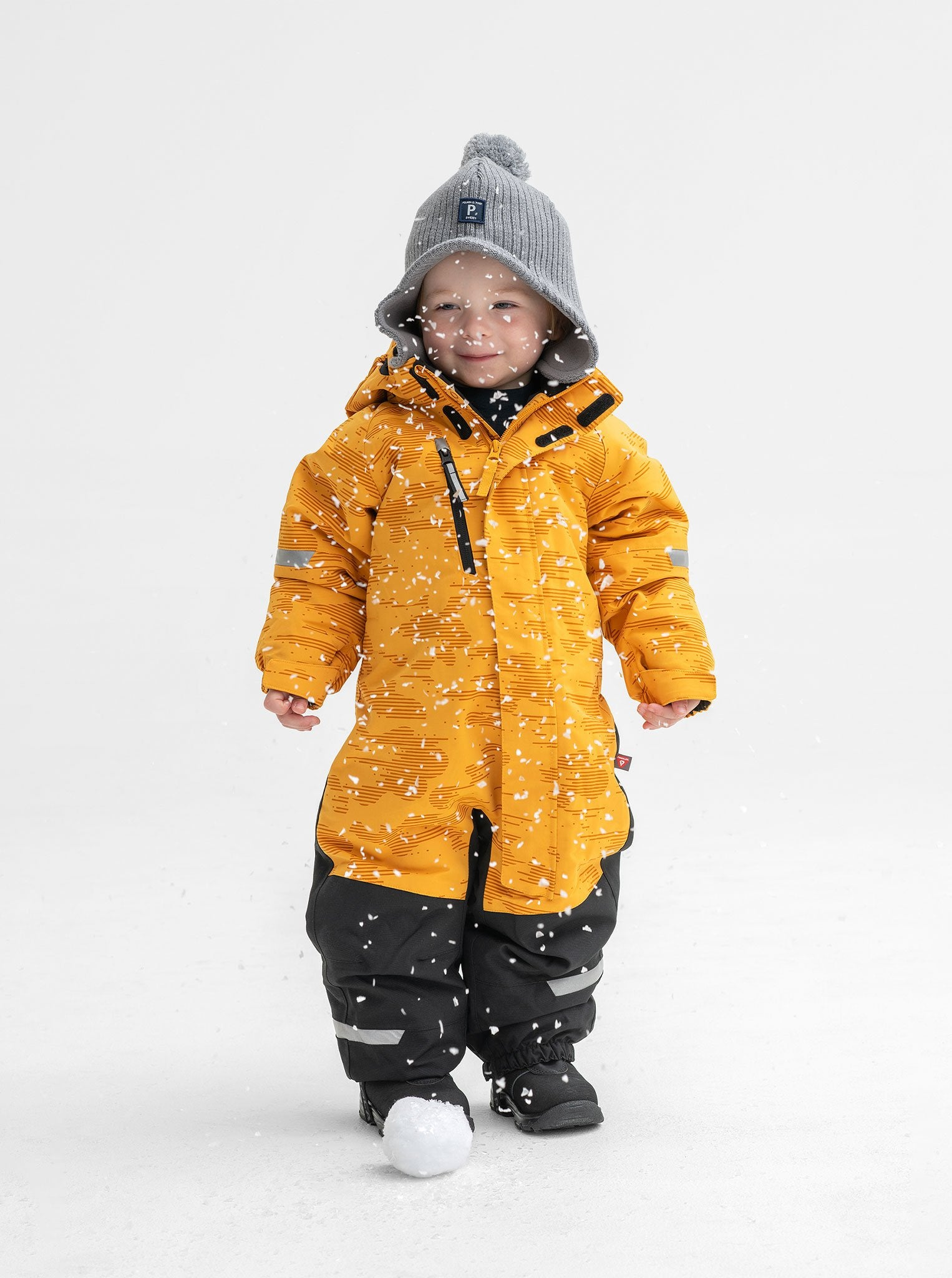 Padded Waterproof Kids Overall