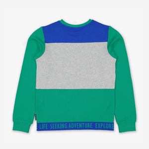 Block Colour Kids Sweatshirt