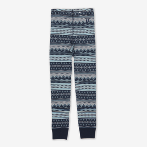 Fairisle Thermal Merino Baby Long Johns