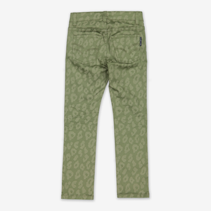 Leopard Print Kids Trousers