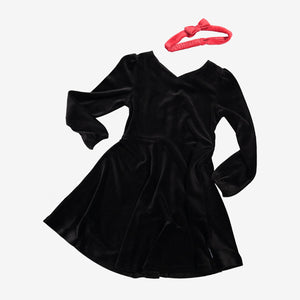 Kids Velour Dress