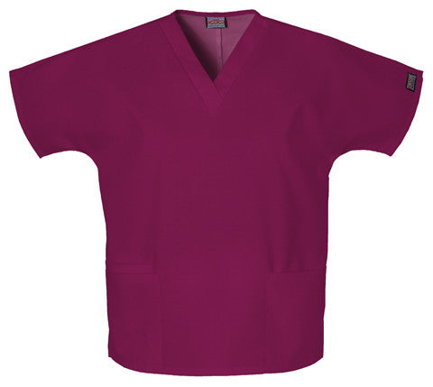 V-neck Tunic with Front Pockets (4700-VVR, PLA, ARB)