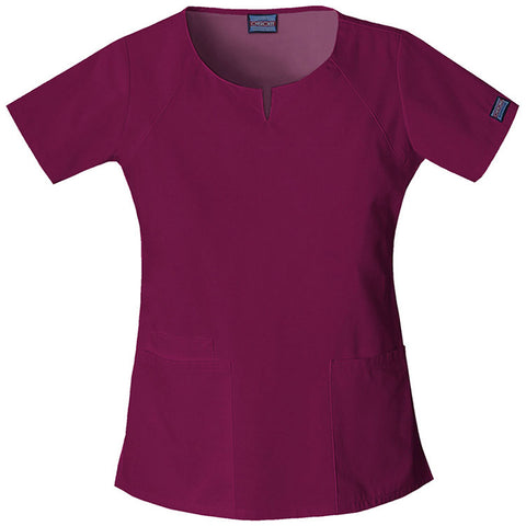 Scoop Neck Fitted Top (4824)