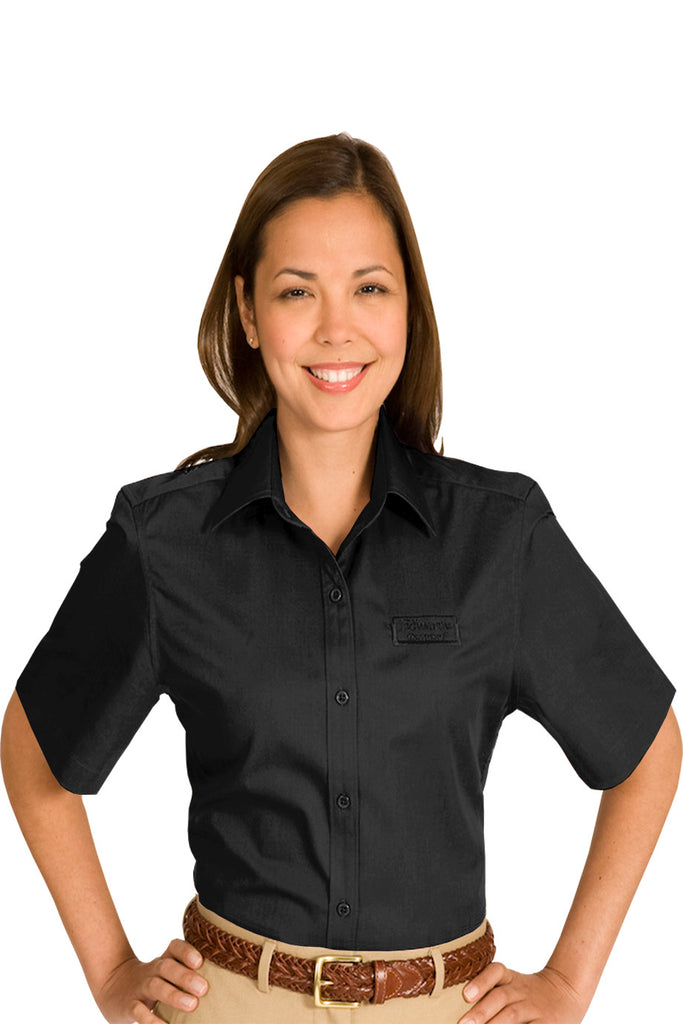 Women's Short Sleeve Twill (5740) - Wexford IL