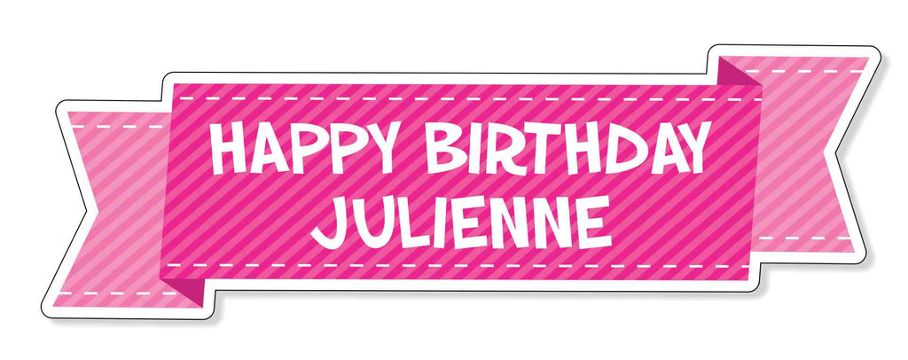 Special Occasions - Custom Birthday Banner
