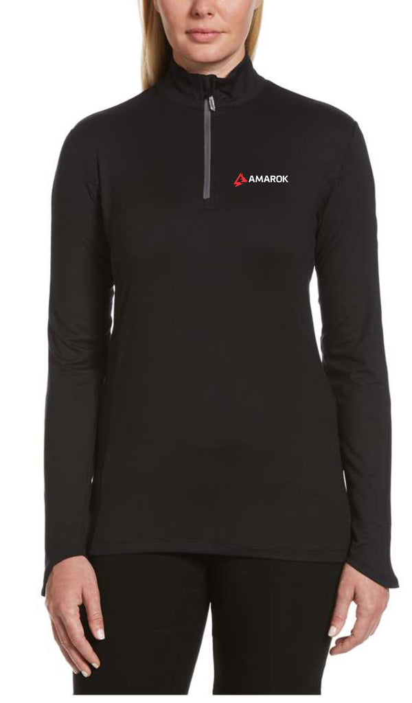 "AMAROK - Ladies Lightweight 1/4"" Zip Pullover (CGW748)"