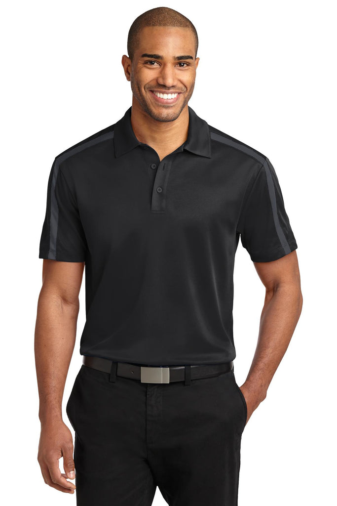 VGT Field - K547 Port Authority® Silk Touch™ Performance Colorblock Stripe Polo