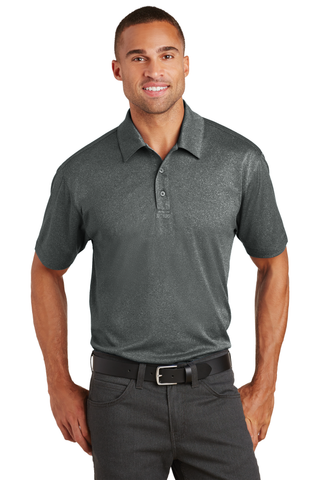 Men's Heather Polo (K576) - Woodland