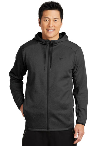VGT Field - NKAH6268 Nike Therma-FIT Textured Fleece Full-Zip Hoodie