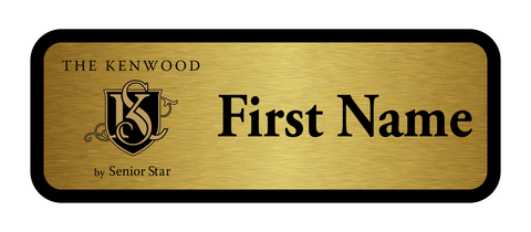 The Kenwood - Line Name Badge