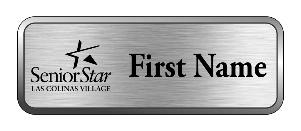 Las Colinas Village - Line Name Badge