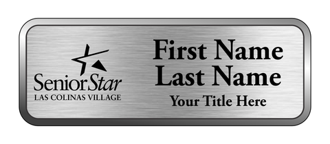 Las Colinas Village - Executive Name Badge