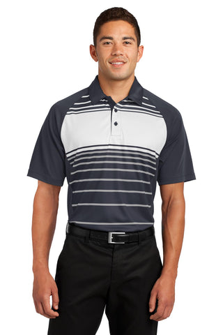 VGT Field - ST600 Sport-Tek® Dry Zone® Sublimated Stripe Polo