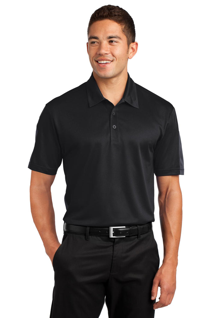 VGT Field - ST695 Sport-Tek® PosiCharge® Active Textured Colorblock Polo