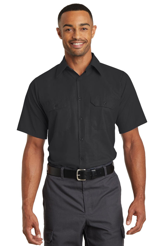 VGT Field - SY60 Red Kap® Short Sleeve Solid Ripstop Shirt