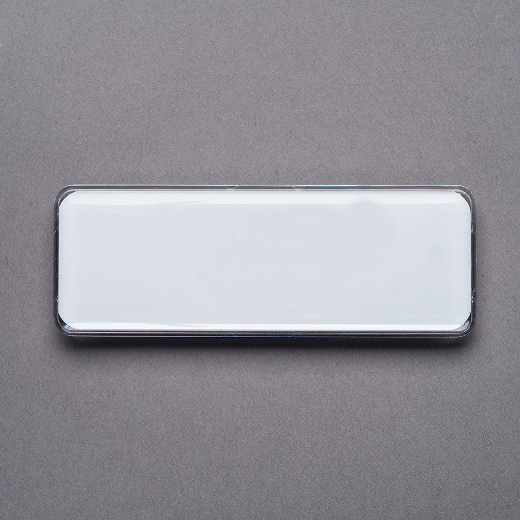 blank domed name badges order blank domed tags a b identity
