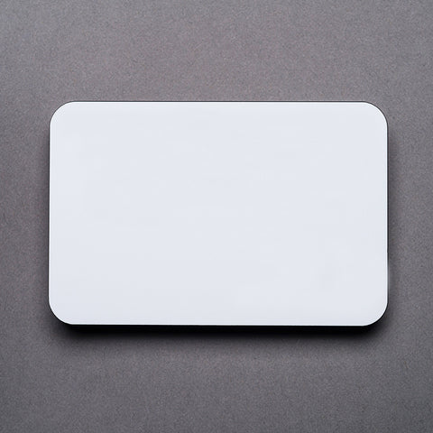 Plastic Name Badge - Blank
