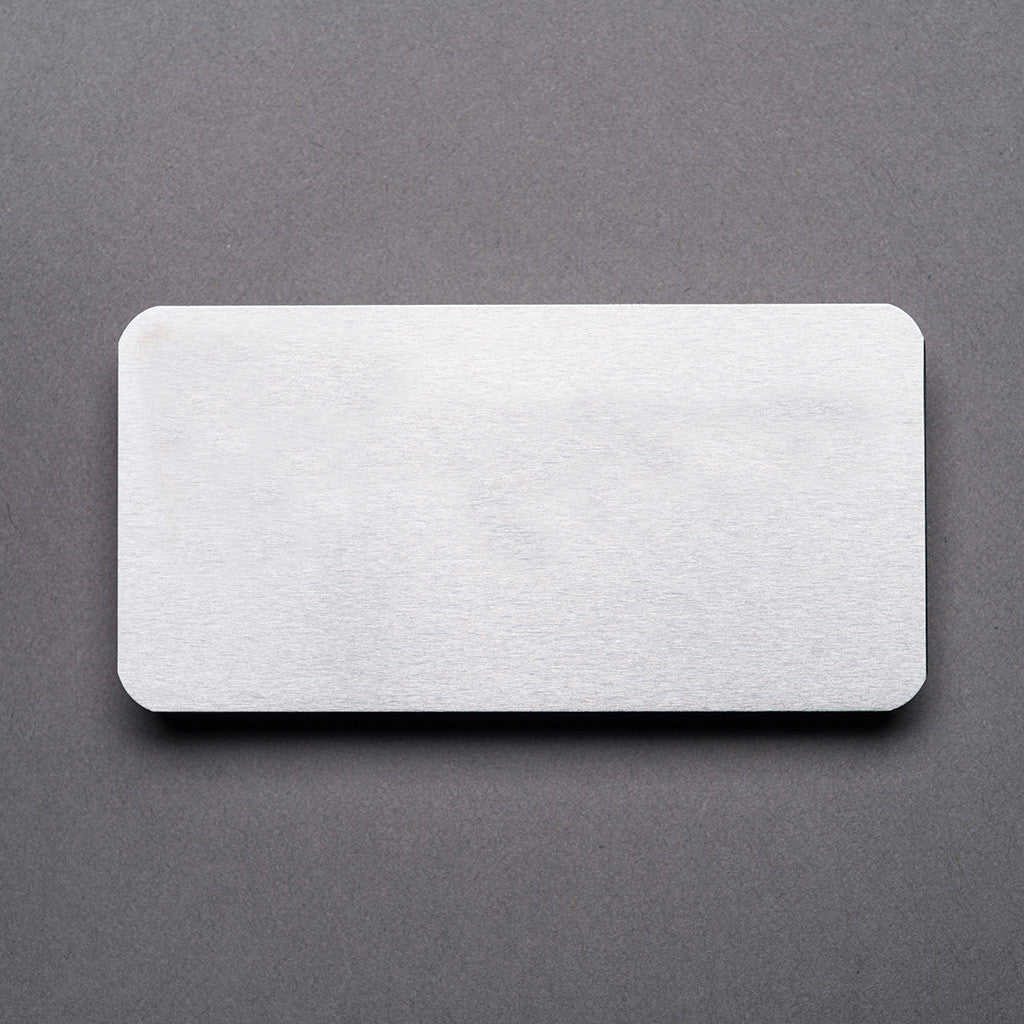 Metal Name Badge - Blank