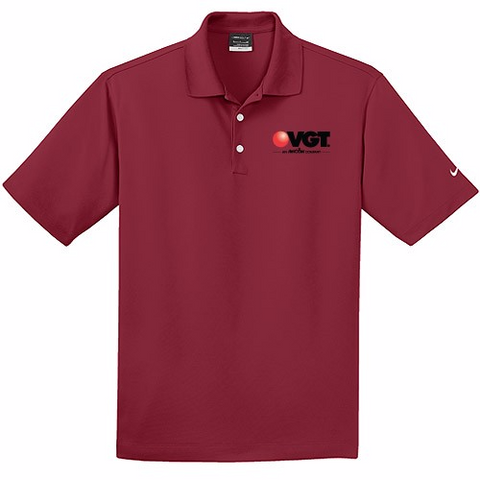 VGT Nike Golf Dri-Fit Micro Pique Polo Shirt  (363807)