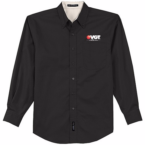 VGT Port Authority Easy Care Long Sleeve Shirt  (S608)
