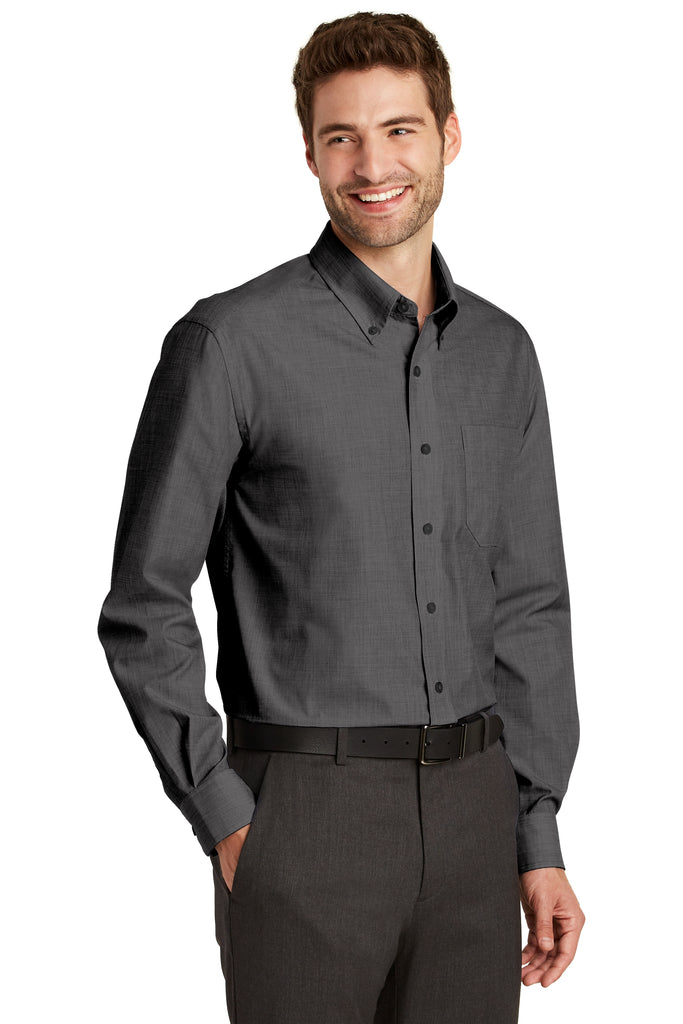 VGT Field -  TLS640 Port Authority® Tall Crosshatch Easy Care Shirt