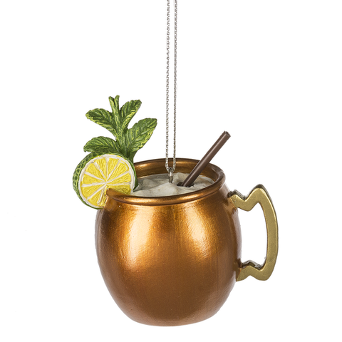 Moscow Mule Christmas Ornament