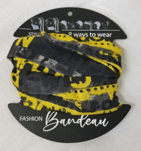 On The Road Bandeau Bandana Face Head