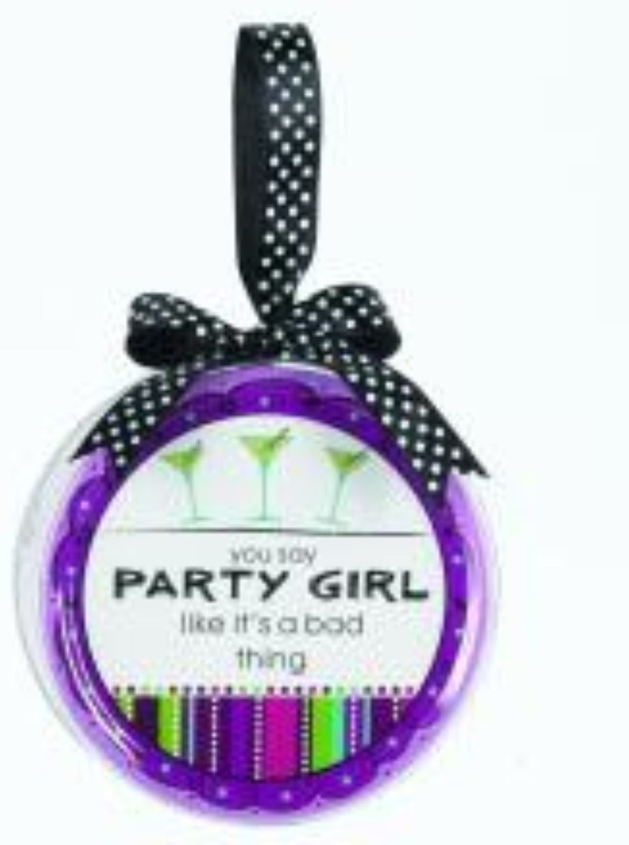 Drink Coaster Set Party Girl