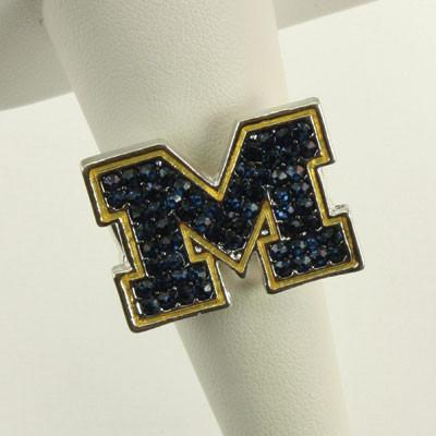 University of Michigan Officially Licensed Stretch Ring