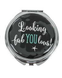 Looking Fabulous Makeup Compact Mirror