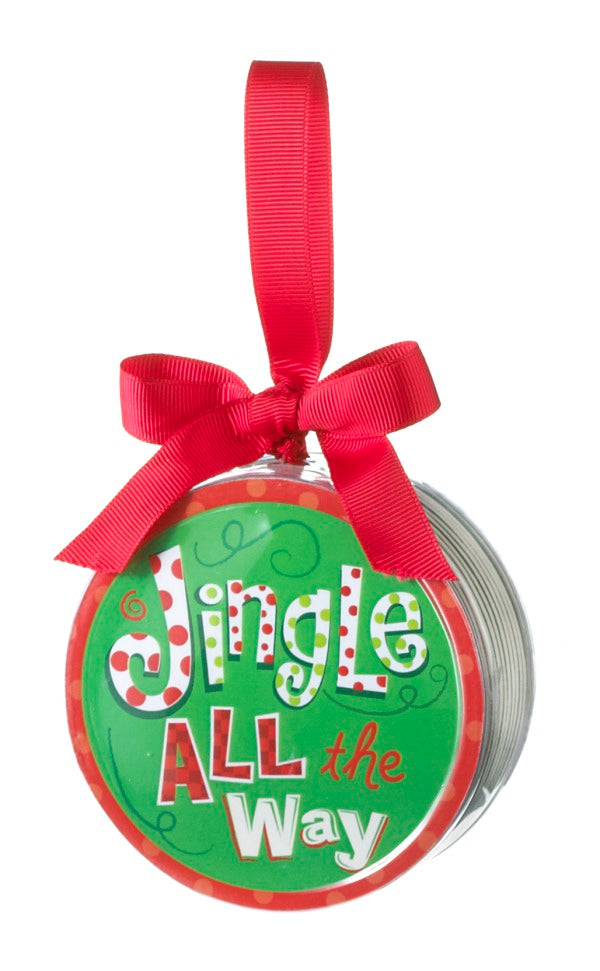 Jingle all the Way Reversible Set of Coasters