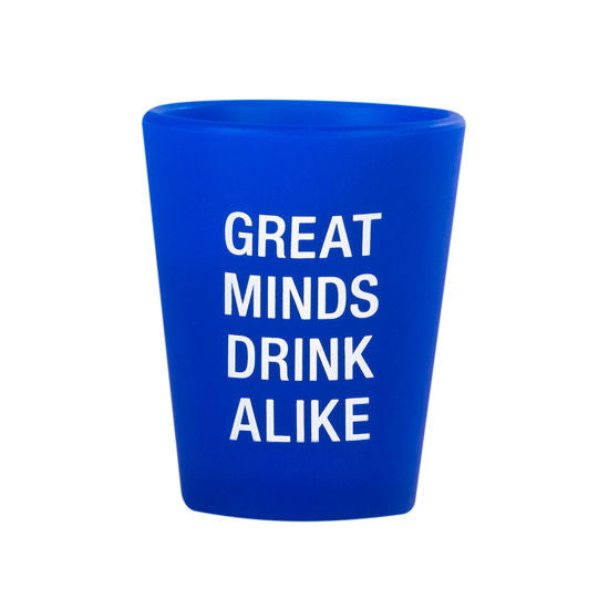 Great Minds Drink Alike Silicone Wine Glass