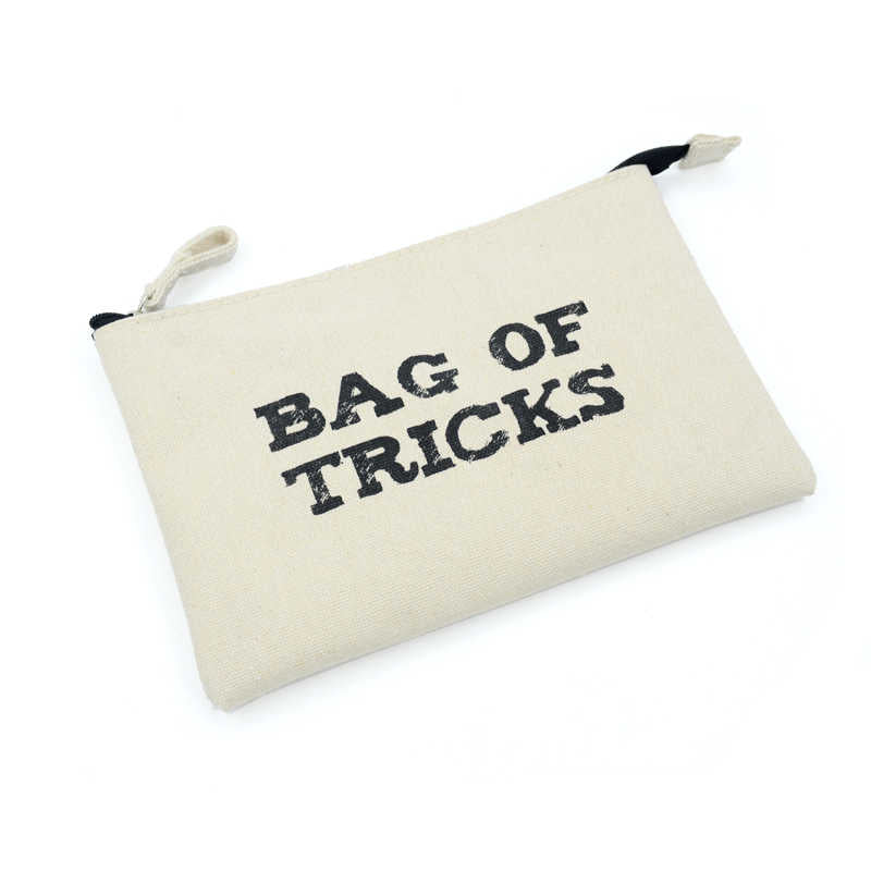 Bag Of Tricks Canvas Make up Bag