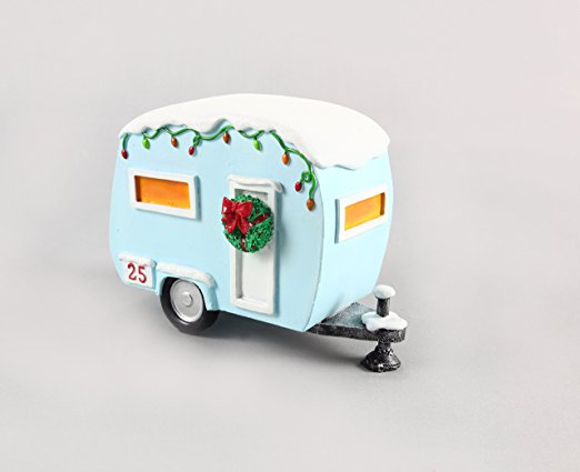 Christmas Camper Glamper Table top Ornament