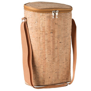 Recycled Wine Cork Two Bottle Insulated Wine Bag