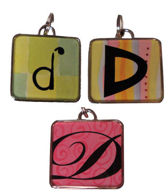 Ganz Square  D  Initial Charm