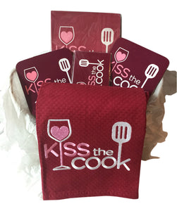 Kiss The Cook Gift Basket