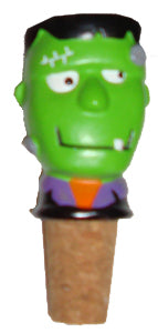 Halloween Frankenstein Wine Bottle Cork Stopper Topper