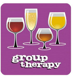 Purple Group Therapy Coaster