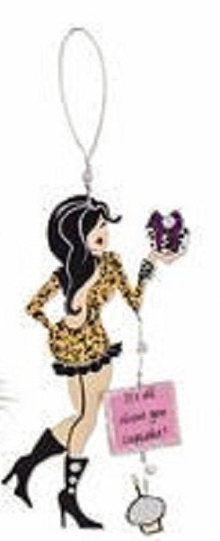 Wine Bottle Charm It's All About You Cupcake